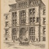 Perspective view of Turkish and Russian baths, at 34 Clinton Street, Brooklyn, as projected