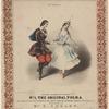 Jullien's celebrated polkas. No. 1, The original polka, as danced at the soirées du haut-ton in London, Paris, Vienna, &c.&c. Dedicated to Mr. E. Coulon by Jullien. M. & N. Hanhart, Chromo Lith. Printers.