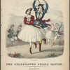 celebrated polka dances. [Lithograph] Endicott's Lithy.