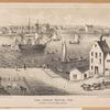 The Ferry House, 1746. (Fulton Street, Brooklyn)