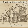 Franklin Hotel erta 1835 by Samuel Williams. Myrtle Ave.