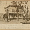 Lefferts House (demolished in 1913) and Tweed Fountain