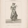 (Académie Royale de Musique). Mlle. Guimard. (Rôle de la Chercheuse d'esprit, ballet pantomime).