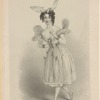 Mrs. Honey as Psyche. Drawn from life by Edward Novello & on stone by R. J. Lane.