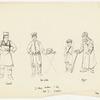Tinsmith / Hat Peddler / Beggar - 3 Village Vendors and Boy: Act I - Summer