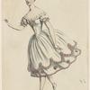 Acad. Royale Musique. Mlle Carlotta Grisi dans Le diable à quatre (acte 2e)