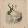 Polka from Le diable à quatre. [Lithograph by J. Brandard.