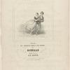 Pas des vendanges. Dansé par Melle. Carlotta Grisi & Mr. Petipa dans Giselle. Ballet composé par Ad. Adam. [Lithograph by] Victor Coindre. Lith. Formentin & Cie.