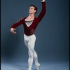 Clark Tippet performing in the dance production Swan Lake