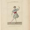 Costume de Pérrot, danseur, dans La révolte au sérail, ballet, act 1er, Académie royale de musique
