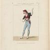 Costume de Perrot, rôle de Zingaro, dans la pièce de ce nom, opéra, Th. de la Renaissance