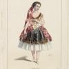 Melle Rosati, dans Les boucaniers, ballet du 2e acte