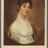 Portrait of Mrs. Lawrence Lewis (Nelly Custis). By John Trumbull (1756-1843) in the Mount Vernon mansion