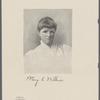 Mary E. Wilkins [signature]