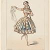 Melle. Plumkett [sic], rôle de Lia, dans L'enfant prodigue, Théâtre de l'Opéra