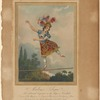 Madame Saqui, the celebrated performer on the rope, at Vauxhall
