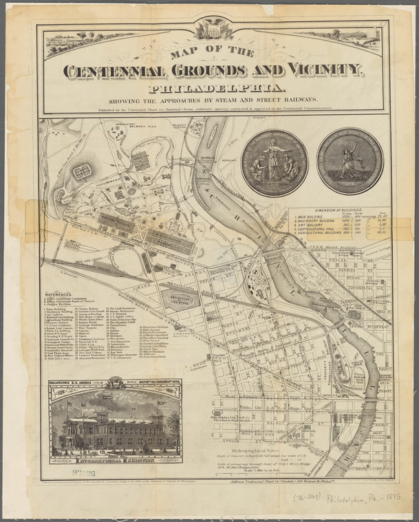 This is What Centennial Exhibition Looked Like  in 1875