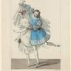 Costumes de Melle Taglioni, rôle de Fleur des champs, et de Mazillier, role de Rudolph dans La fille du Danube, ballet, acte II, Académie royale de musique