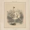 Melle Taglioni dans L'ombre (ballet)
