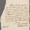 Letter to unidentified person