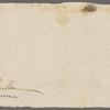 Letter to James Hamilton