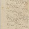 Letter to Elizabeth Hamilton