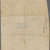 Warrant to survey military lands for Barney Cox, soldier of the Delaware Line