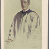 Woodrow Wilson. President of Princeton University. Drawn from life by George T. Tobin