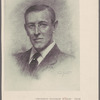 """President Woodrow Wilson."" From a pastel drawing by Fred Yates"