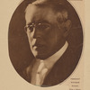 President Woodrow Wilson. From a recent camera study by Arnold Genthe