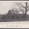 Landmark to religious liberty in America--Historic old Williams House now standing in Roger Williams Park, in Providence, Rhode Island, where the plantation was founded in 1636 which established freedom of conscience and speech on the western continent
