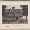 The original Roger Williams house erected in Salem, Mass., in 1634