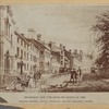 Broadway and the Bowling Green in 1835. Showing Kennedy, Watts, Livingston, and Van Cortlandt houses