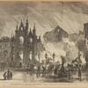 The burning of Barnum's Hippodrome