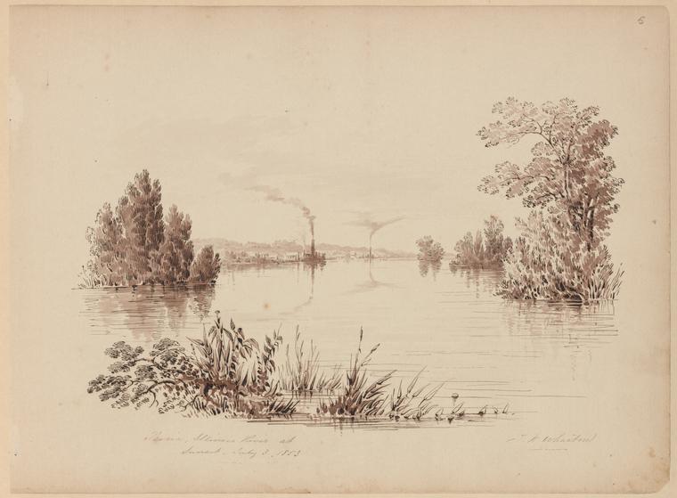 Fascinating Historical Picture of Thomas Kelah Wharton on 7/3/1853