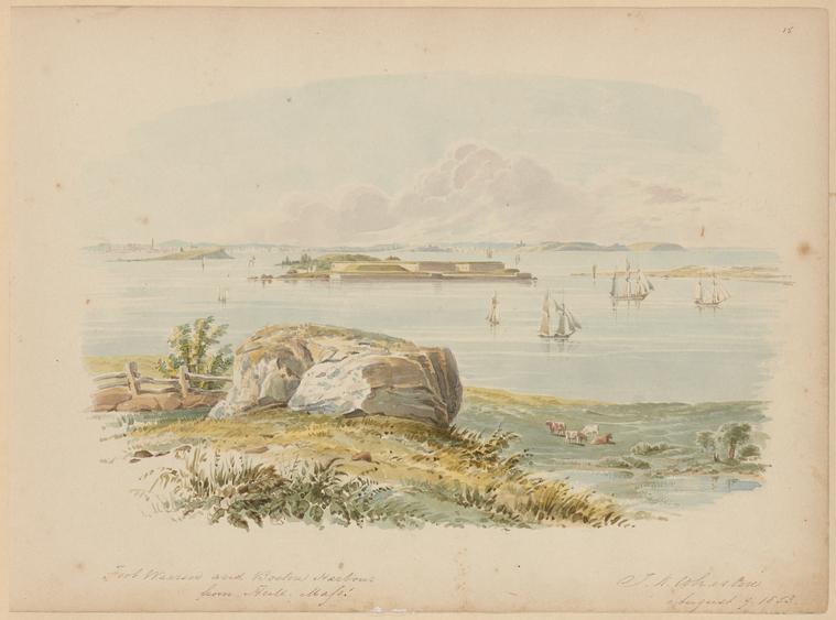 Fascinating Historical Picture of Thomas Kelah Wharton on 8/9/1853