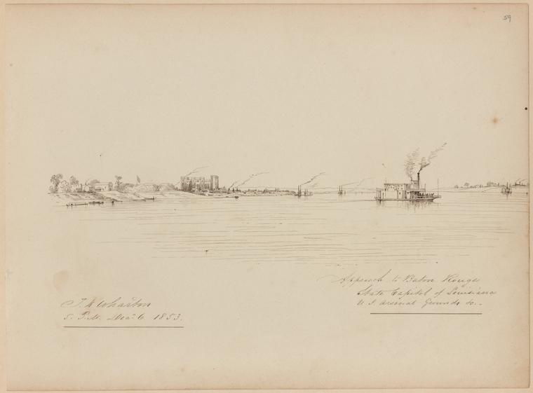 Fascinating Historical Picture of Thomas Kelah Wharton on 12/6/1853