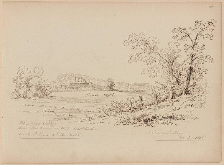 Fascinating Historical Picture of Thomas Kelah Wharton on 11/27/1855
