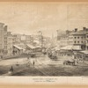 General view of Chatham St. 1858, looking down from Chatham Square