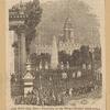 New York City Hall--Fountain in the Park--Croton Celebration