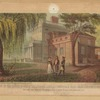 """Part of the house in which """"Talleyrand"""" loved, Bloomingdale Road, near Hudson River & 75th St. known as Major Thompsons (now Perritt's) Mansion"""