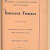 Compte-rendu de gestion pour l'exercice 1902, Budget 1903
