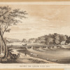 Macombs Dam, Harlem River 1850