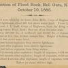 Destruction of Flood Rock, Hell Gate, N.Y.H., October 10, 1885