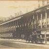 Colonade Row; The Churchman offices; Adams Express Company wagon; public telephone sign
