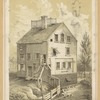 White Conduit House, in Leonard St. between Broadway and Church St. N.Y. 1816