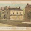 Murray Hill. Twin frame houses, cor. 33d St. & Lexington Av.