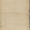 William Bollan statement of account with the Province of Massachusetts Bay