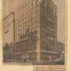Top center: Garden of the paprtment house ay 1088 Park Avenue, managed by Brown, Wheelock, Harris, Stevens, Inc...