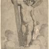 Enfant with Cross, after Raphael